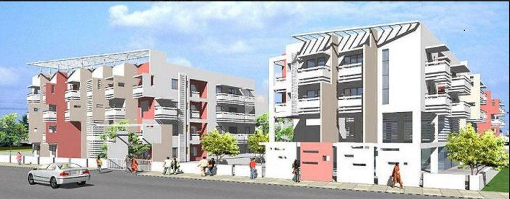 DSR Krishna Royale Apartment - Elevation Photo