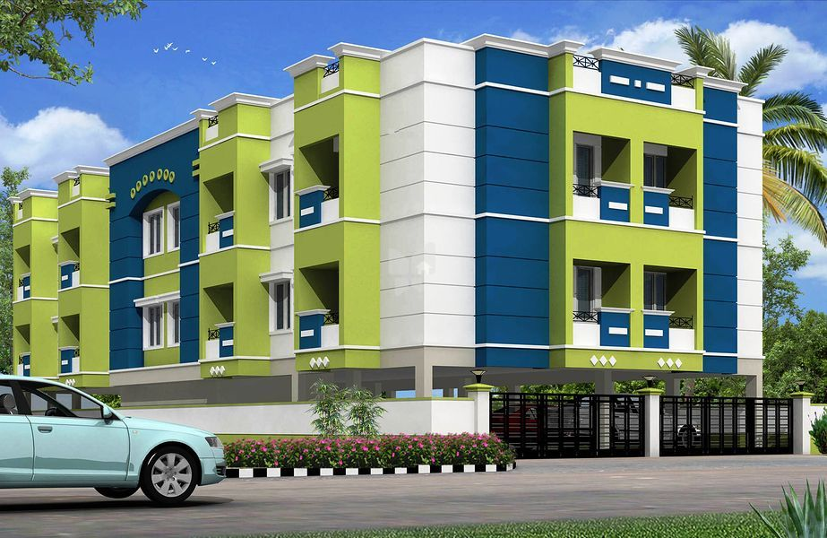 GK Aditi - Elevation Photo
