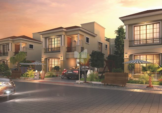 Sangani Green Wood Empire Villas - Elevation Photo