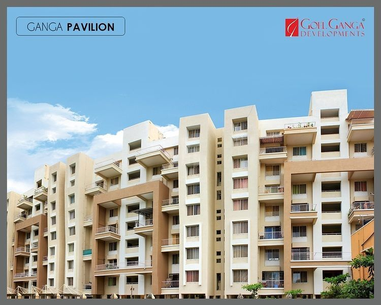 Ganga Pavillion Phase II - Elevation Photo