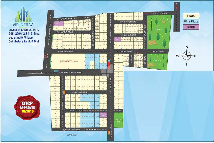 VIP Urban Center - Master Plans