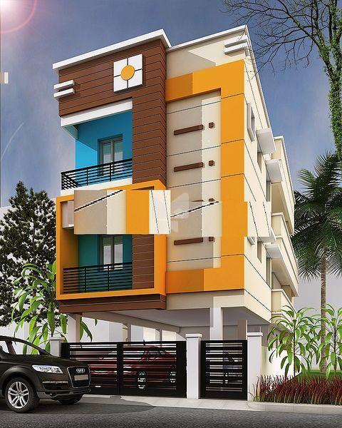 Bharathi Sai Brindhavan Apartments - Elevation Photo