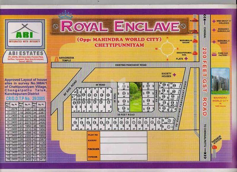 ABI Royal Enclave - Master Plans