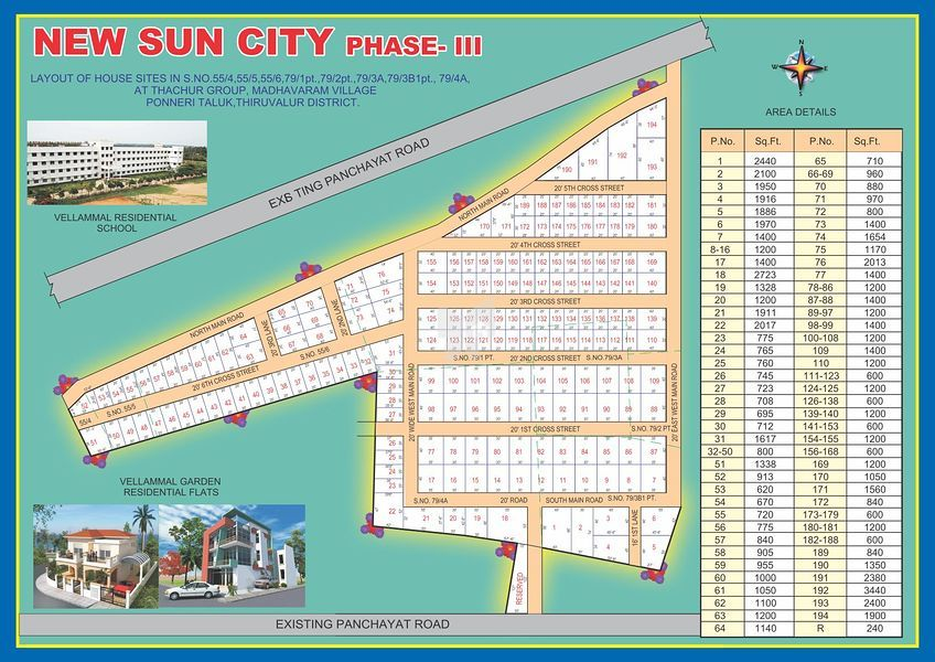 AJE New Sun City Phase III - Master Plans