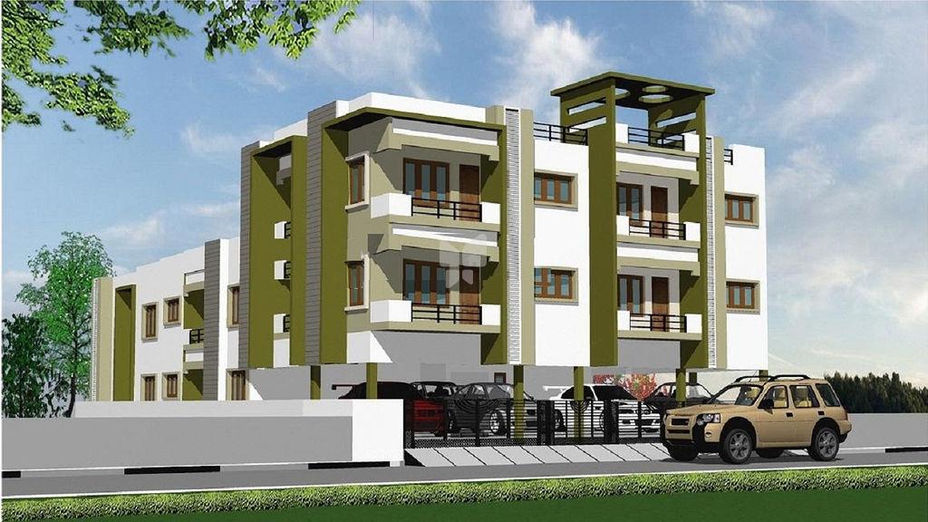2 bhk in jmm lakshmi apartments