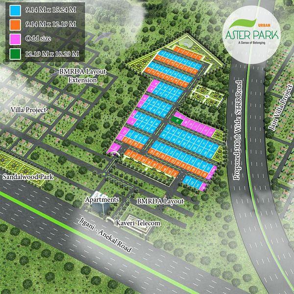 Aster Park - Master Plan