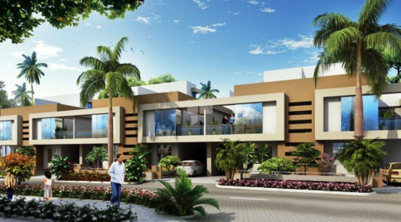 Kolte Patil Life Republic Twin Bungalows - Elevation Photo
