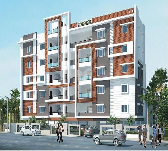 Pratyusha Sree Rama Residency - Elevation Photo
