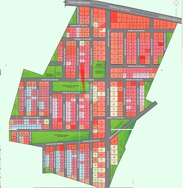 Sukrithi Royal - Master Plans