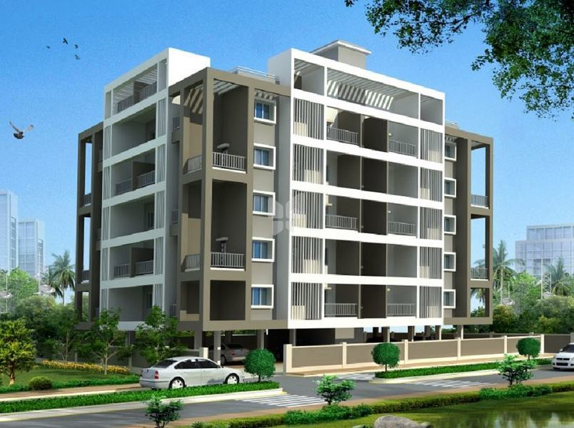 Trimurti Balaji Residency - Elevation Photo