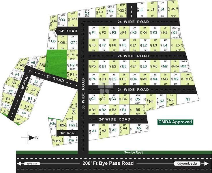 Manju Abhirudhi Avenue - Master Plan