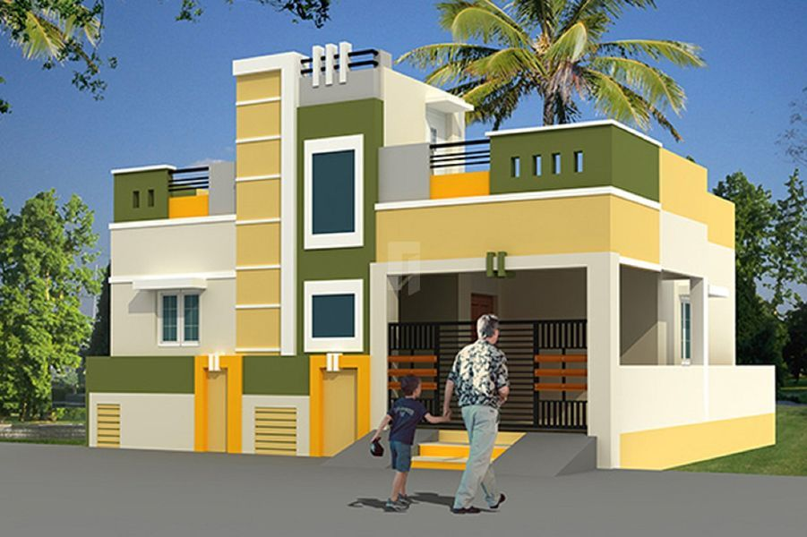 Sharath Capital Town Villa - Elevation Photo