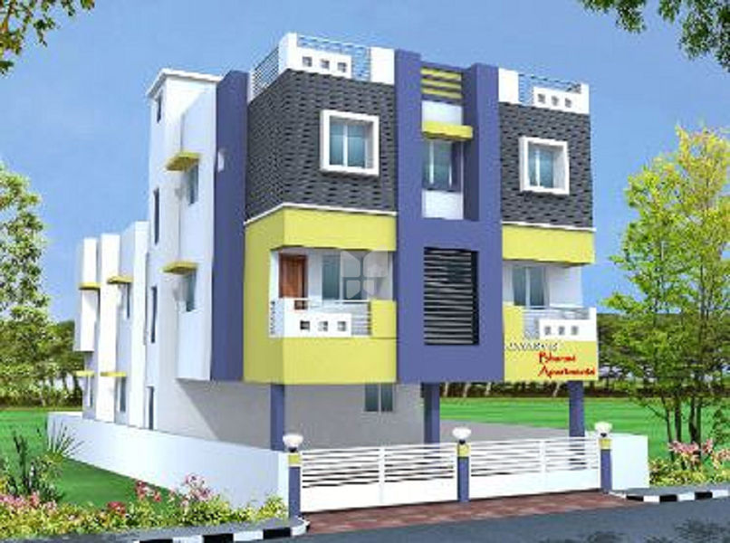 Jayasvi's Bharavi Apartments - Elevation Photo