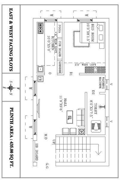 Sowmiya housing kings villa s in thiruvallur chennai for 1 king west floor plans