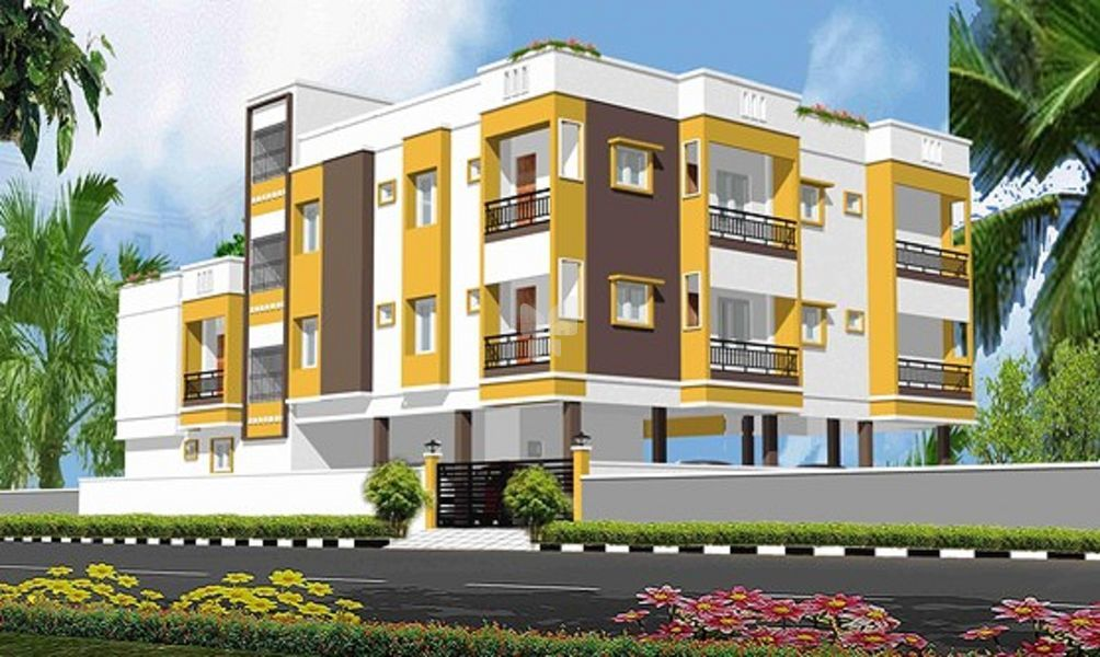 Meenakshi Kantha Apartment - Elevation Photo