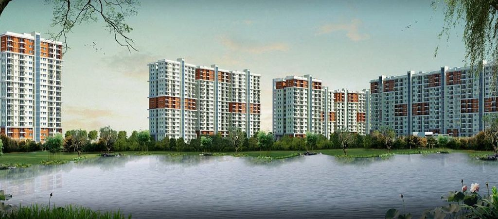 Prestige Ferns Residency - Elevation Photo