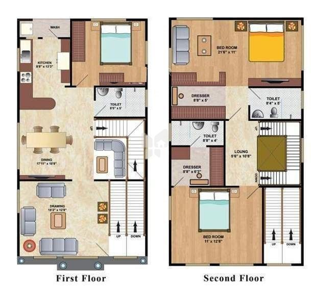 Dsl fortune villas in east marredpally hyderabad price for North face home designs