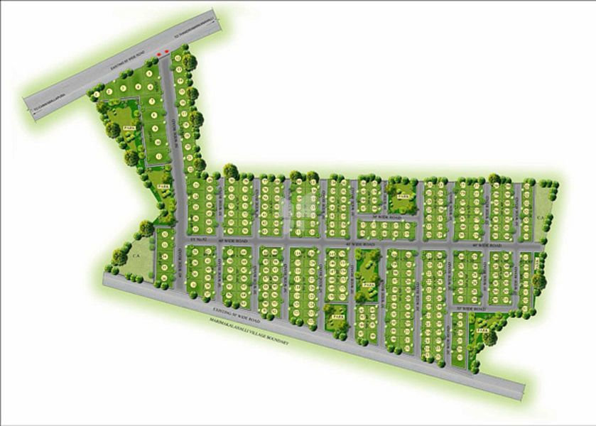Pragna Maple Ridge - Master Plan