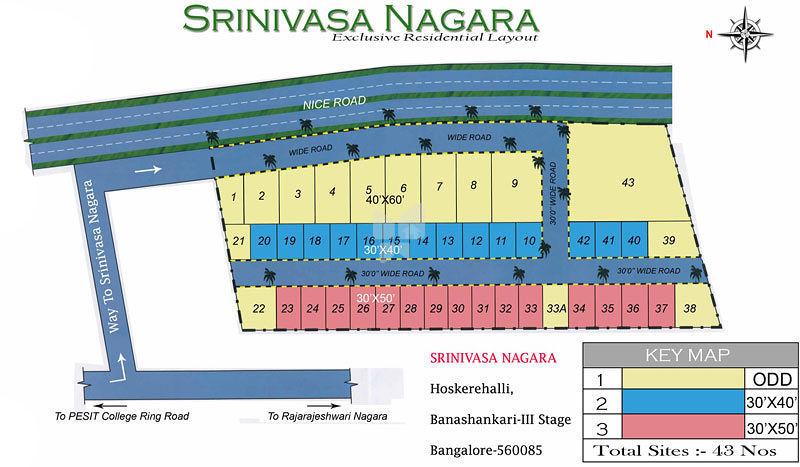 Bhagini Srinivasa Nagara - Master Plan