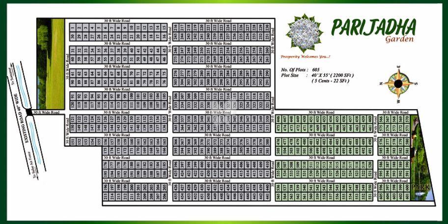 Athika Parijadha Garden - Master Plan