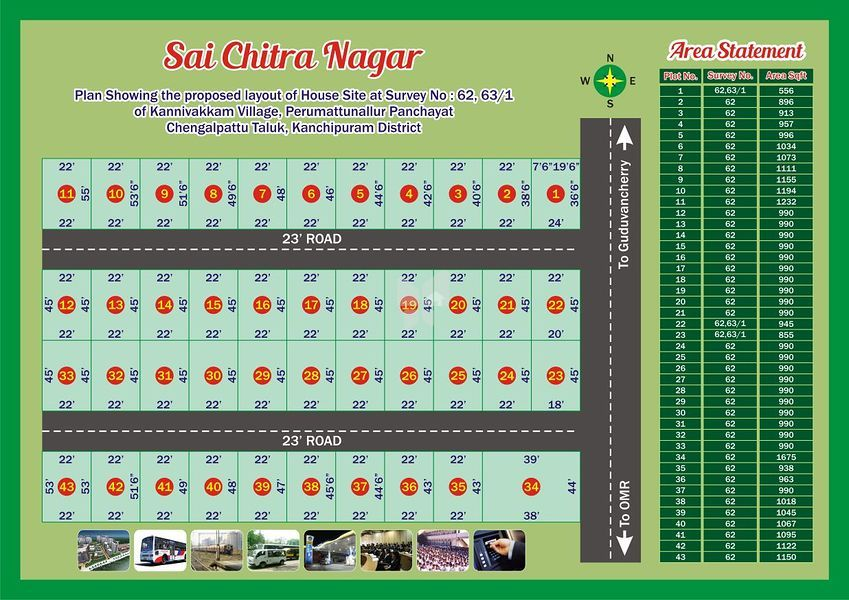 GL Sai Chitra Nagar - Master Plan