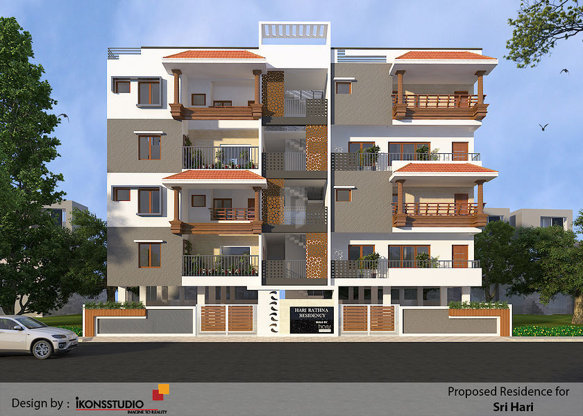 Taurus Hari Rathna Residency - Elevation Photo