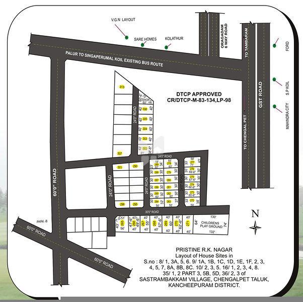 Pristine RK Nagar - Master Plan
