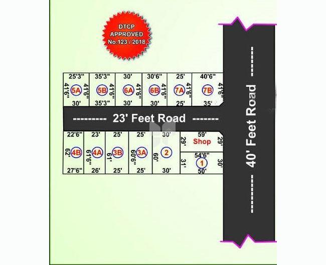 Dharsan Residency - Master Plan