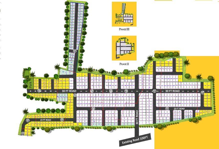 Akshaya Avenue - Master Plans
