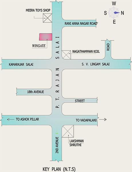 Green Peace Wingate - Location Maps