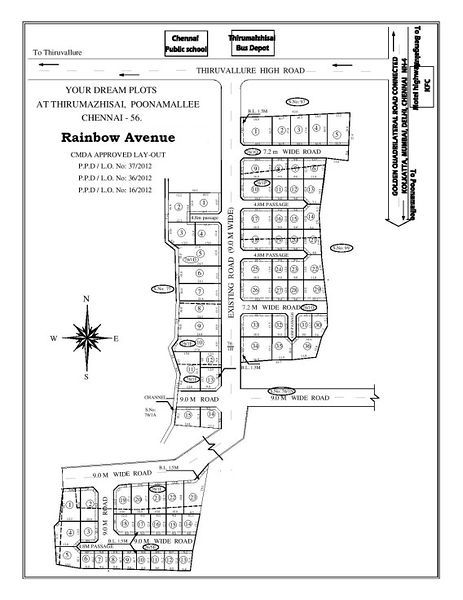 Rainbow Avenue - Master Plan