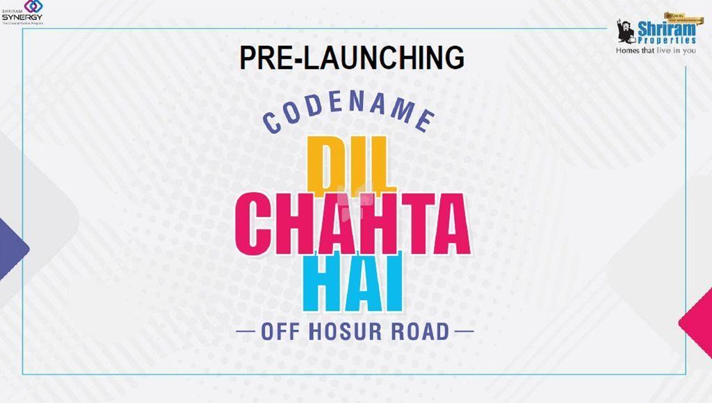 Shriram Codename  Dil Chahta Hai - Elevation Photo