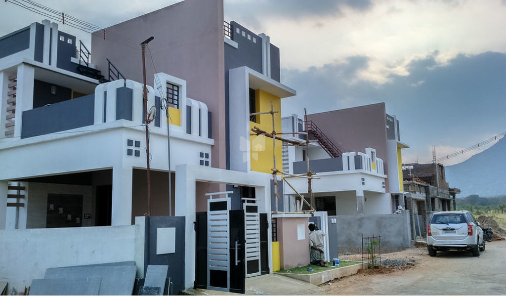 KK Builders Sri Sai Villas - Elevation Photo