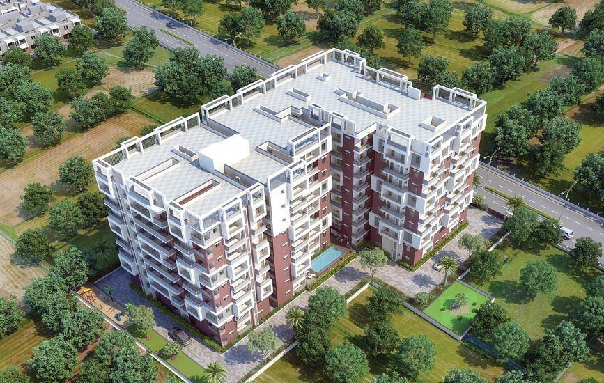 Balaji Aavaas - Elevation Photo