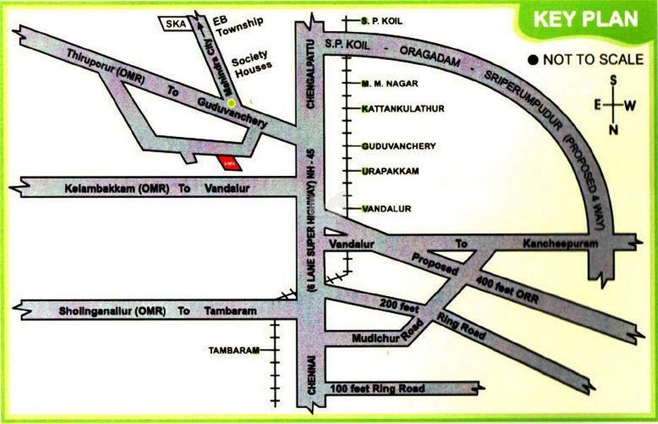 Apex Sivamangala Nagar - Location Maps