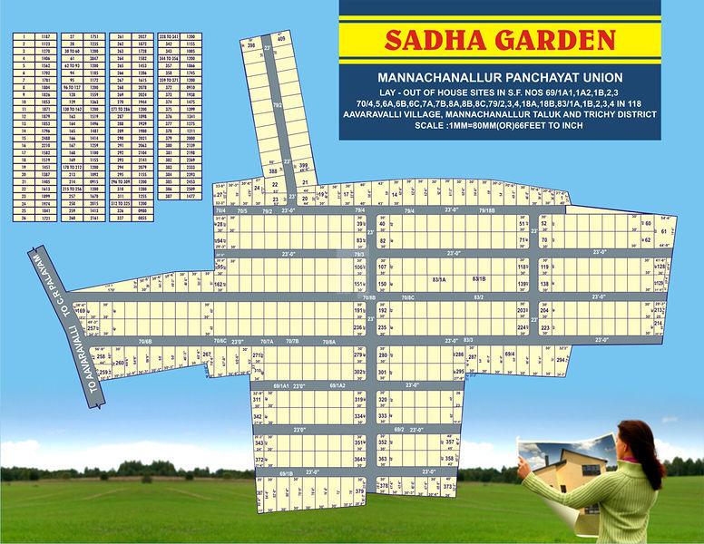 Lion city Sadha Garden - Master Plans