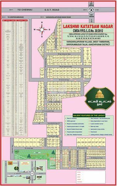 BLB Lakshmi Katatsam Nagar - Master Plans