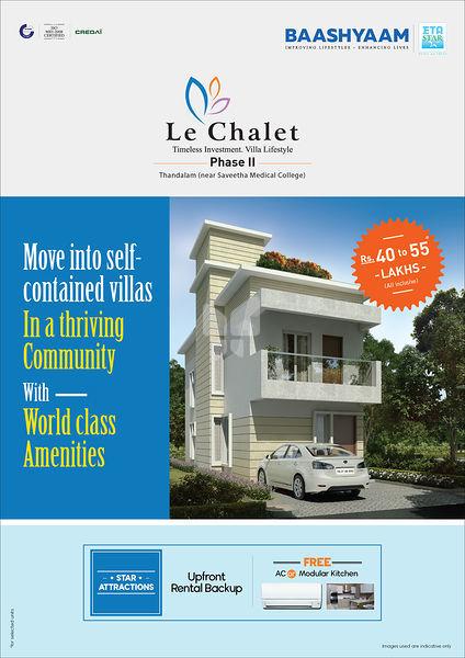 Baashyaam Le Chalet - Elevation Photo