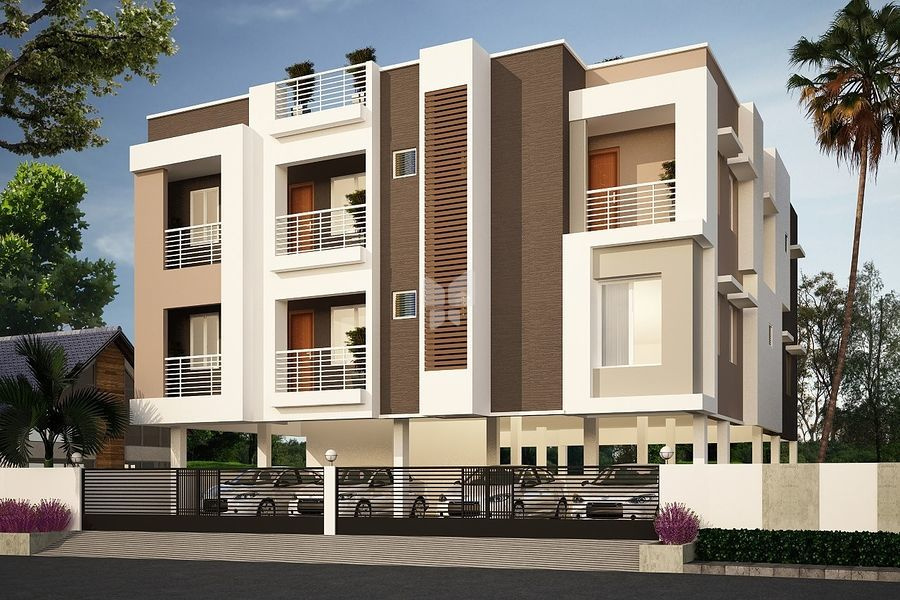 Supreme Nanganallur Flat - Project Images