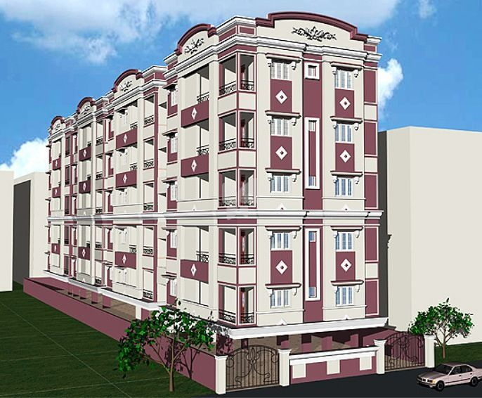 Royal Home Solitaire Residency - Elevation Photo