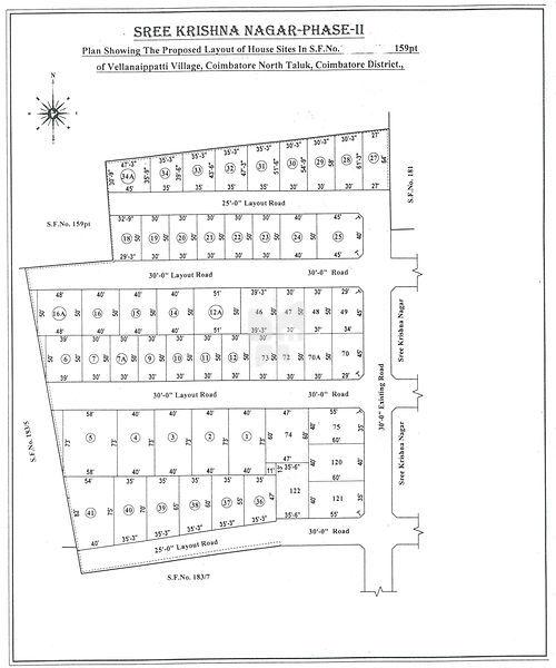 Sri Krishna Nagar Phase II - Master Plans