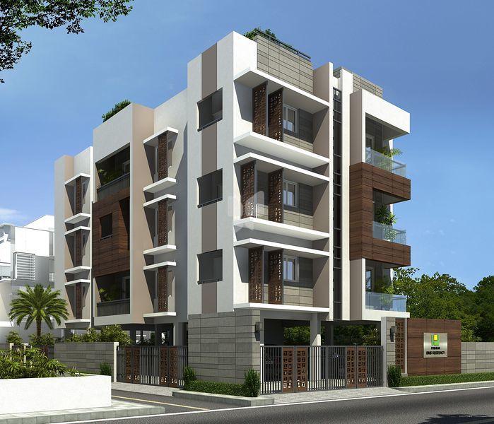 Pushkar Sims Residency - Elevation Photo