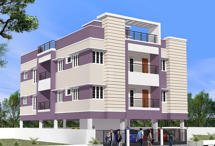 Deluxe Apartments - Pallikaranai - Project Images