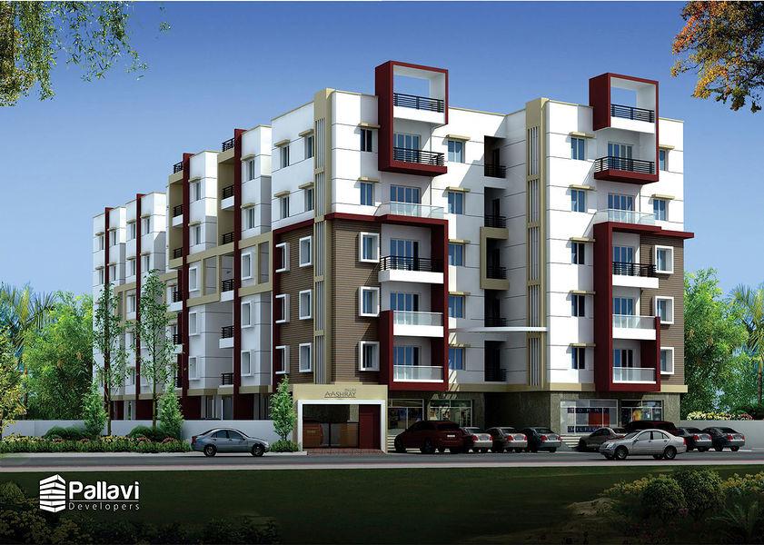 Pallavi Aashray - Elevation Photo