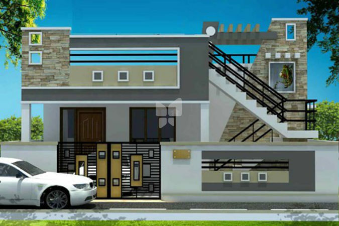 Front Elevation Of House In Coimbatore : Real value avenue phase ii in irugur coimbatore