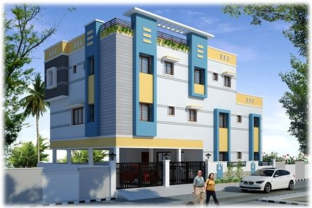 Sivaram Builders Vadakkupattu-Block A - Elevation Photo