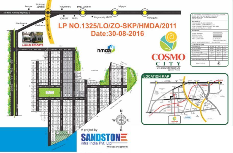 Sandstone Cosmo City - Master Plans