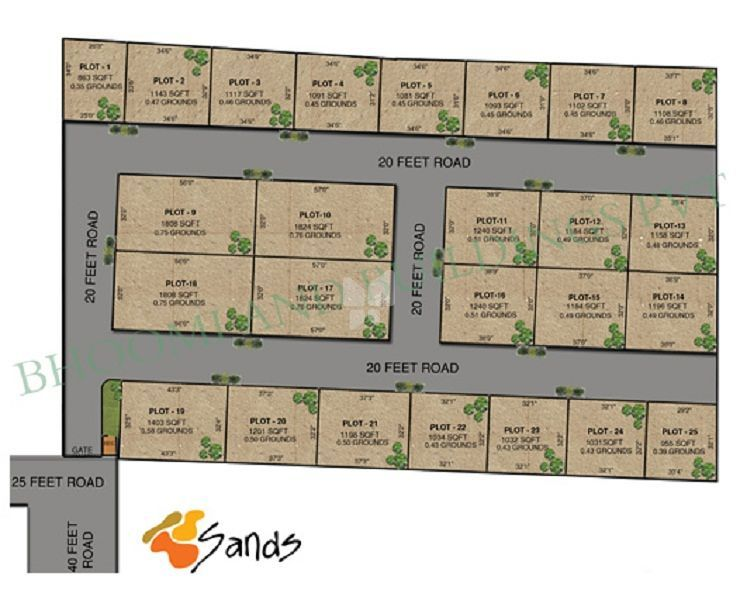 Bhoomi The Sands - Master Plans