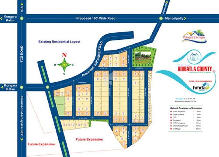 Chakra Adibhatla County - Master Plan