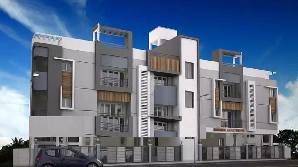 MAN Krishna Apartment - Elevation Photo